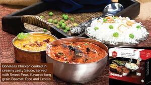 Basmati Rice - Boneless Chicken Tikka Masala - Dal