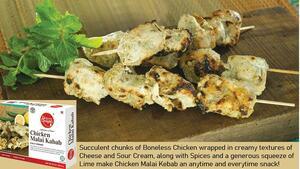 Chicken Malai Kabab Banner