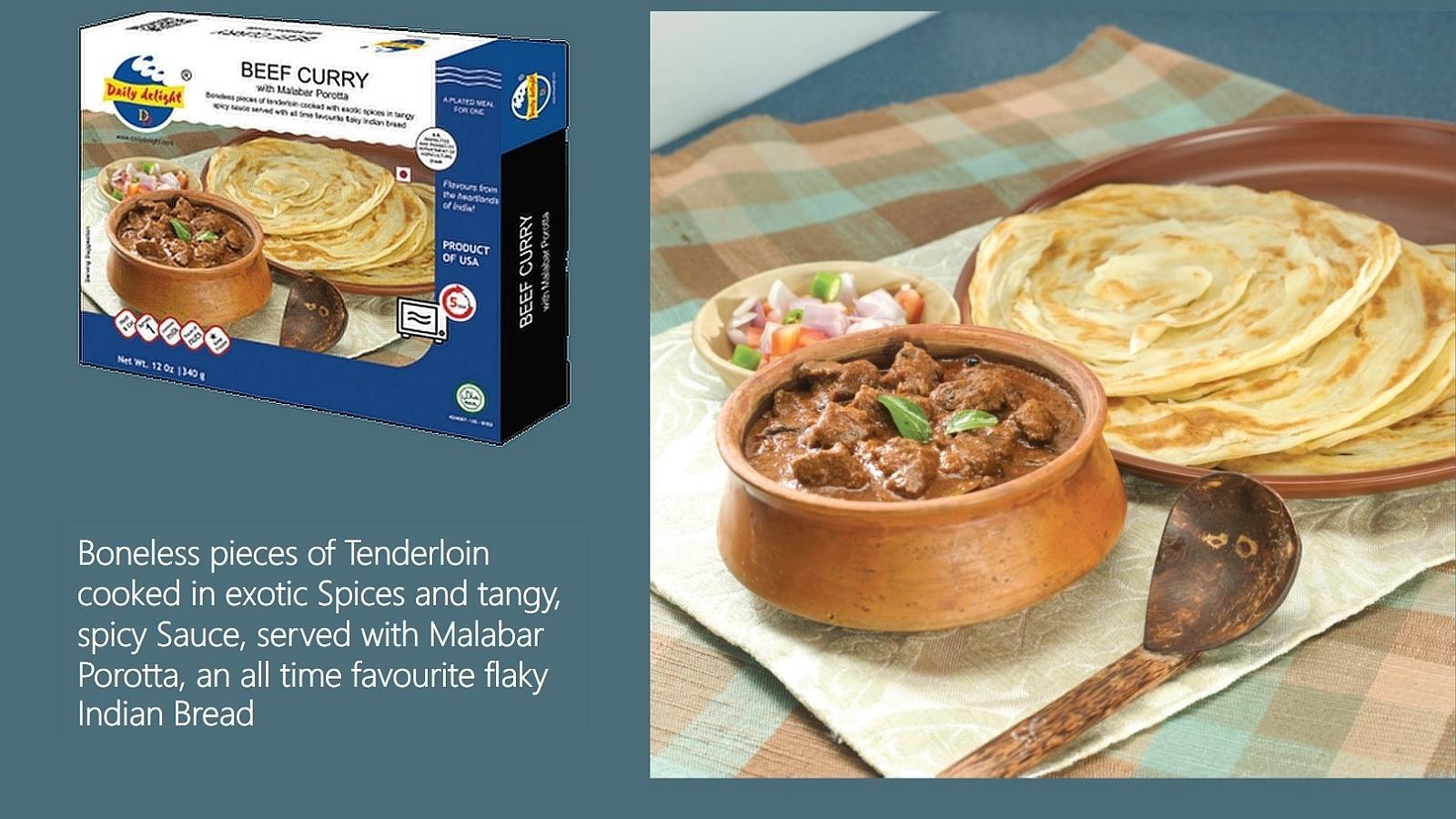 Malabar Porotta - Beef Curry Banner