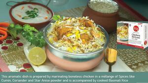 Chicken Biriyani Banner