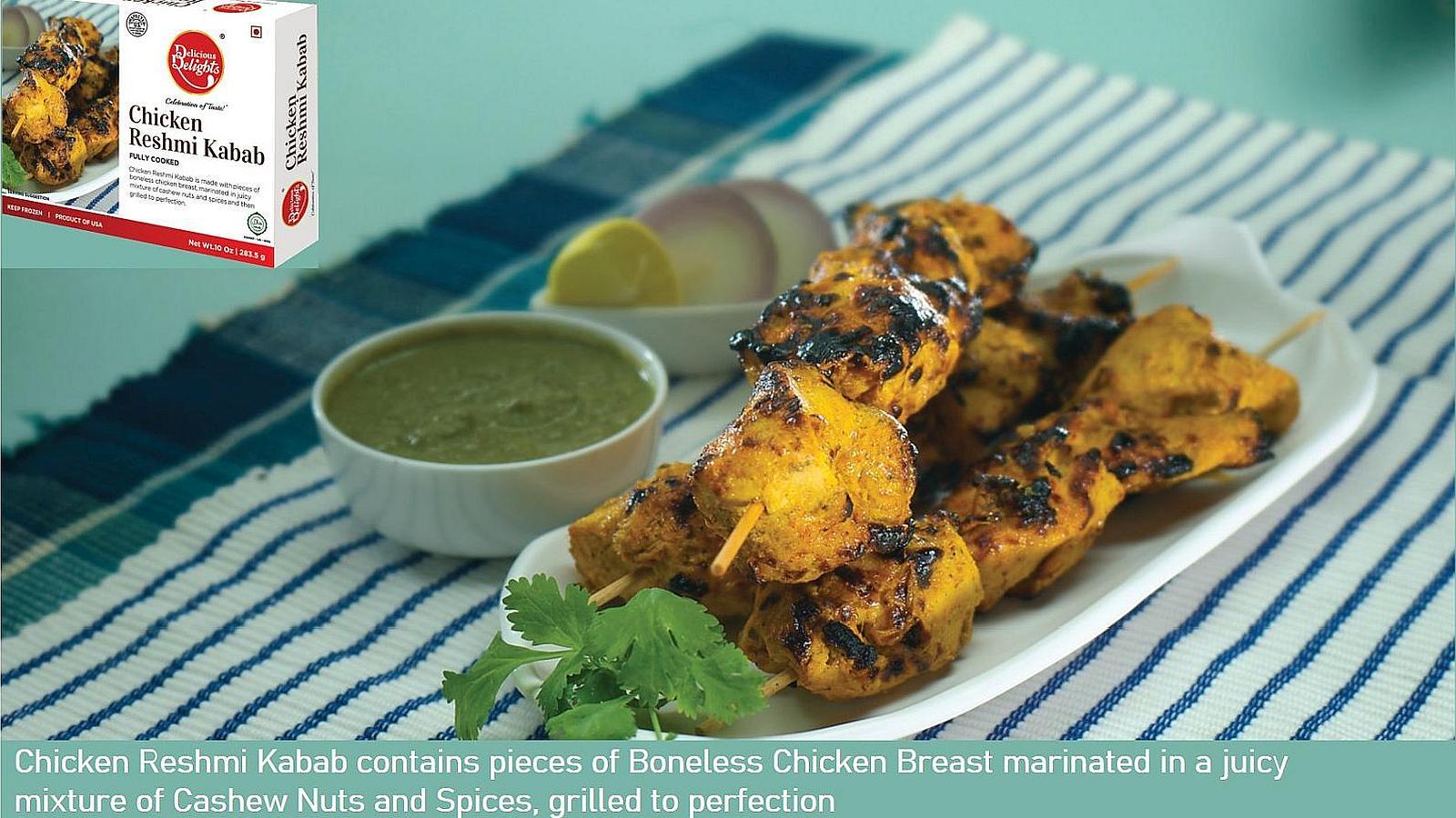 Chicken Reshmi Kabab Banner