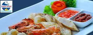 Seafood Delight Banner